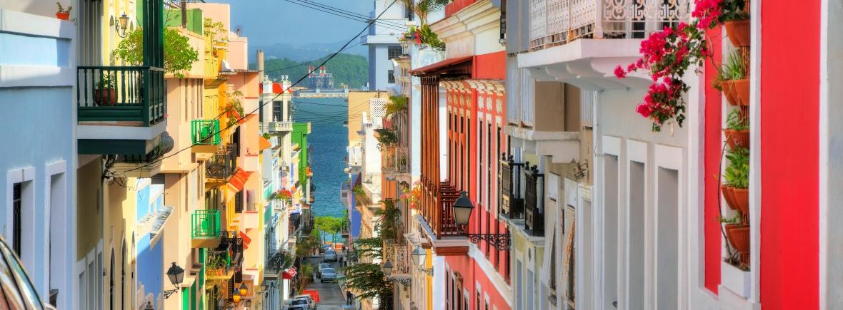 San Juan street view