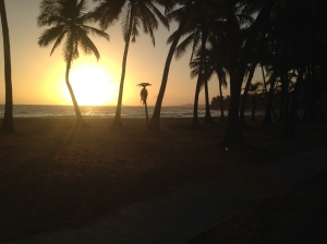Sunrise in Luquillo